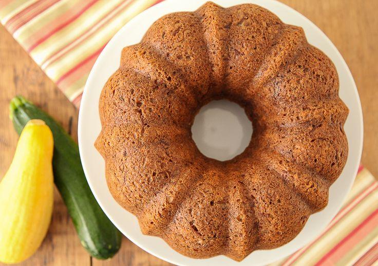 Two-Color Zucchini Bread in a Bundt! | Desserts | Pinterest