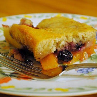 Peach Blueberry Cobbler | Pies, Tarts & Cobblers | Pinterest