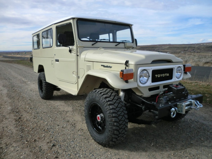 Toyota Land Cruiser Troop Carrier Roads Where We Re