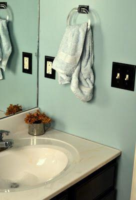 Cheap Bathroom Makeover Home Pinterest
