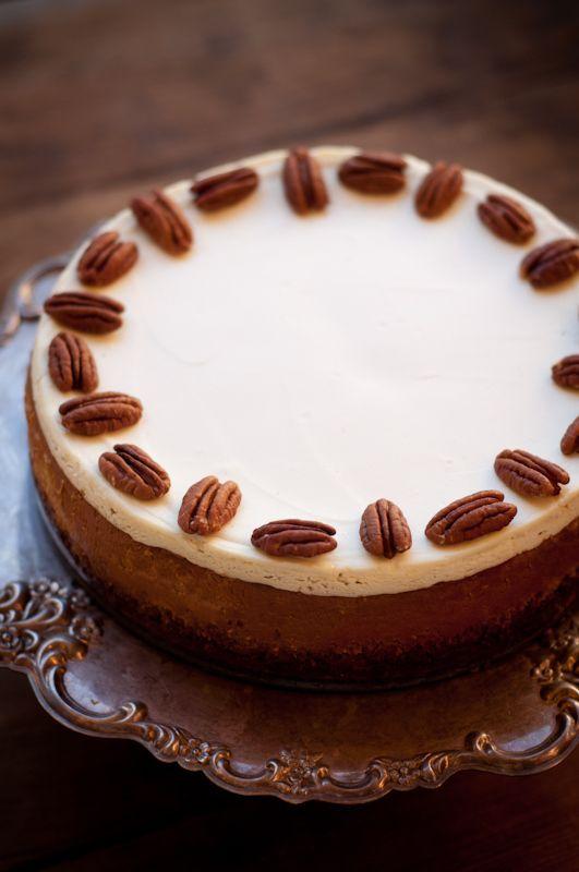 Bourbon Pumpkin Cheesecake | Feeddd Meeee | Pinterest