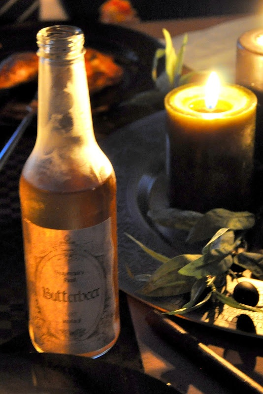 Harry Potter party - butterbeer | Birthday Boy | Pinterest