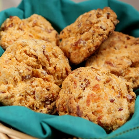 Cheddar Bacon Biscuits | Breads to bake! | Pinterest