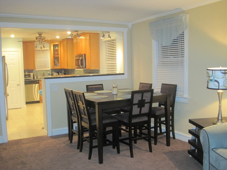 Combined kitchen and dining room 28 images traditional for Dining room game room combo