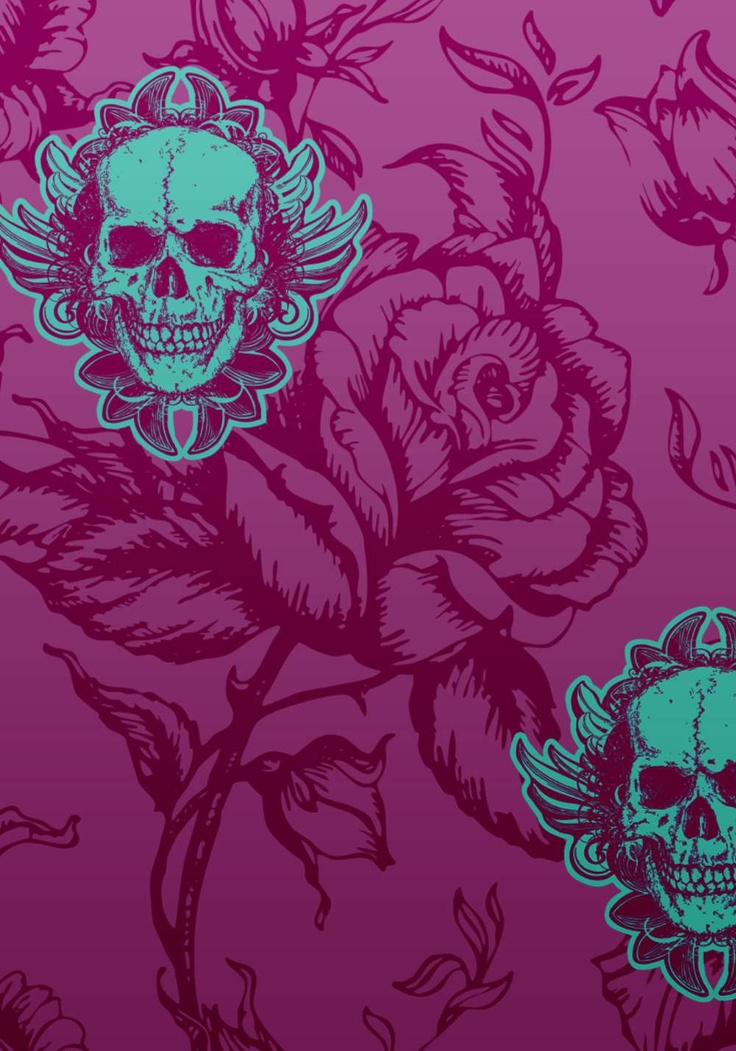 large winged skull wallpaper posters for my walls