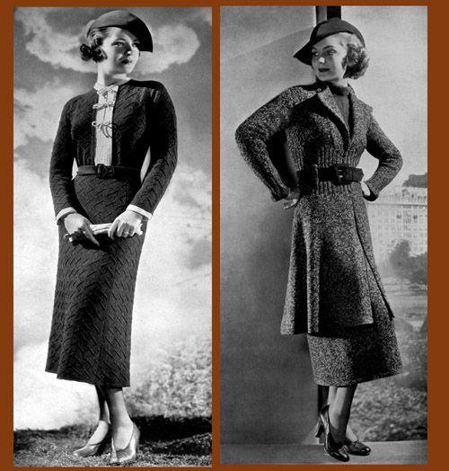 1936 fashion decade the 30s
