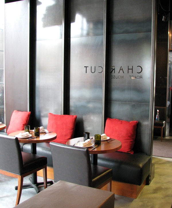 LEMAYMICHAUD | CHARCUT | Calgary | Architecture | Design | Roast House | Restaurant | Die Cut | Seating | Branding | Logotype |