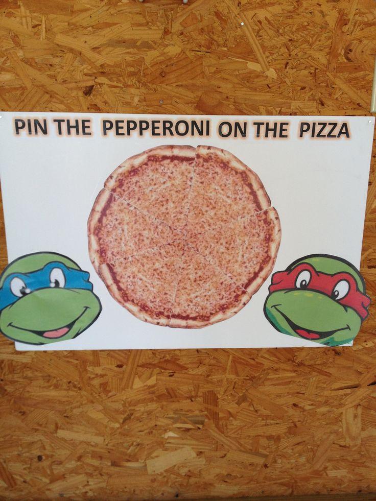 Ninja turtle birthday game | Party Ideas | Pinterest
