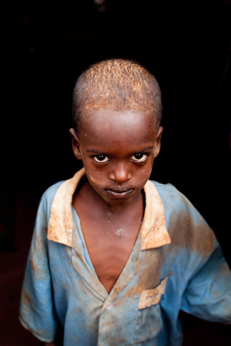 Little boy in Somalia