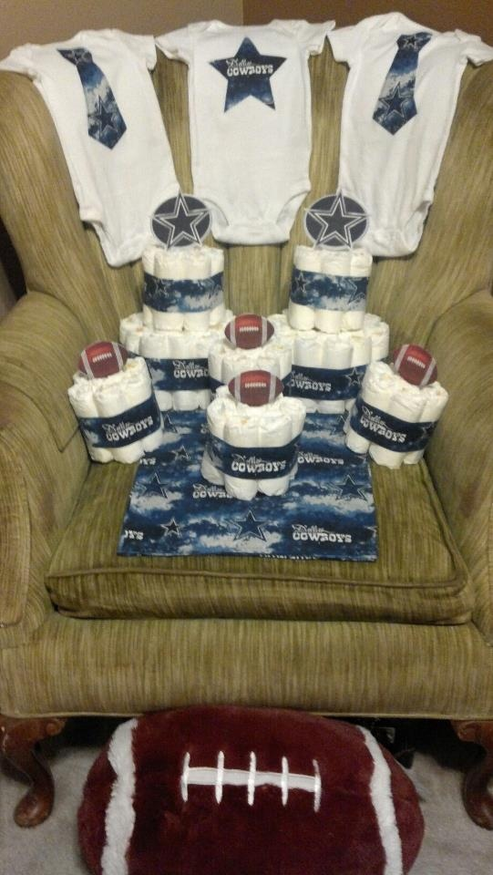baby shower decorations dallas cowboys football baby shower pint