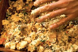 Mushroom-Hazelnut Stuffing | Food - yummy, yummy food! | Pinterest