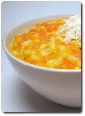 Parmesan-Carrot Risotto | noodles | Pinterest