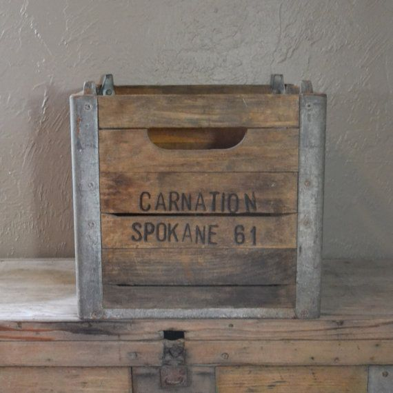 Pin by michelle kalkowski on for the home pinterest for Decorating with milk crates