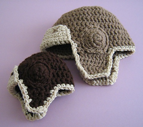 Knitting Pattern For Baby Aviator Hat : aviator hat pattern For the love of crochet Pinterest
