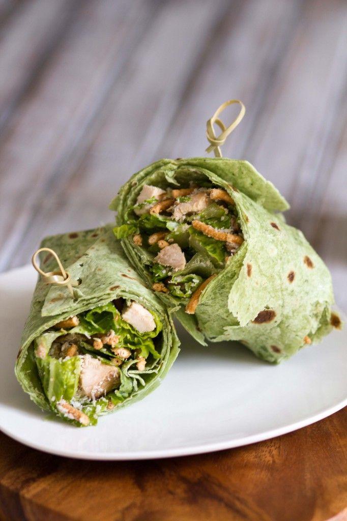 Chicken Caesar Wrap Recipe — Dishmaps