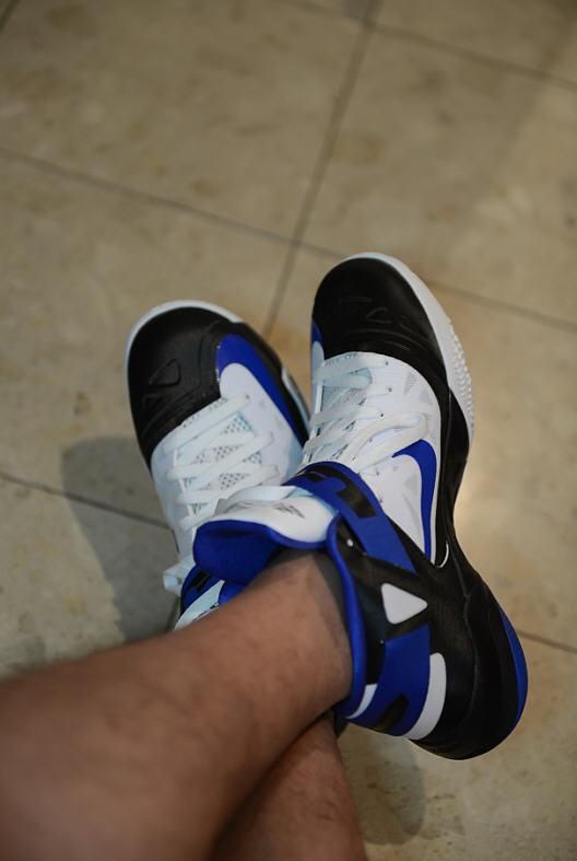 My Nike basketball shoe