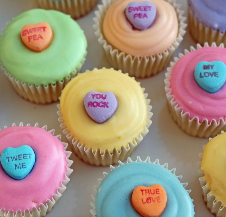 Sweet Heart Cupcakes | recipes | Pinterest