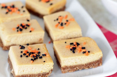 Sweet Potato Cheesecake Bars | cheesecakes rule! | Pinterest