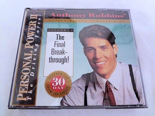 Anthony robbins personal power ii cassette player