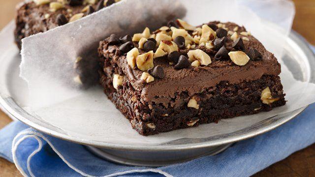 Hazelnut Mochaccino Fudge Brownies | Recipe