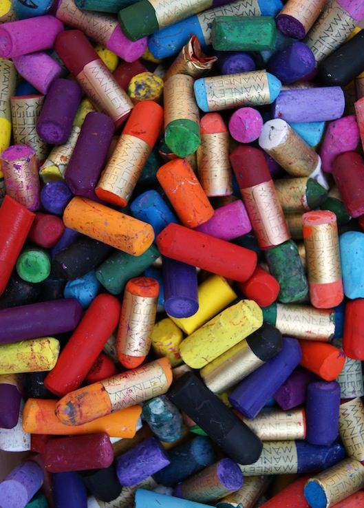 Reciclar ceras de colores manualidades pinterest - Colores para reciclar ...