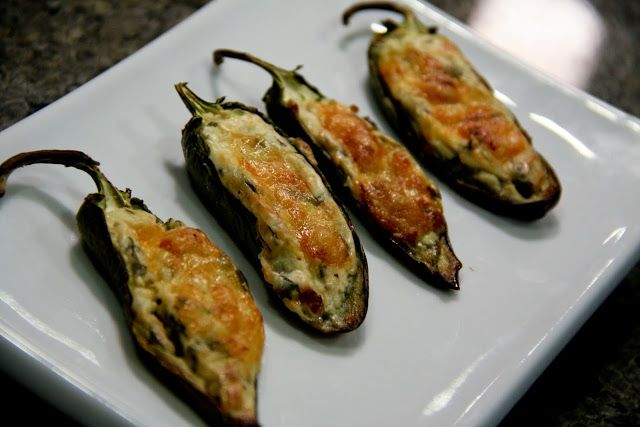Fresh Jalapeno Poppers (gluten-free, contains dairy) - Vegetarian ...