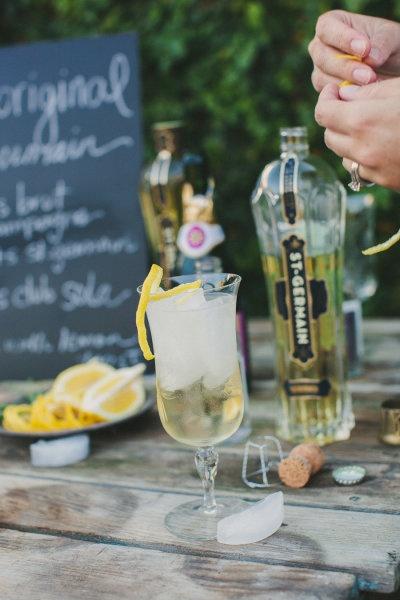 The Original St Germain Cocktail: Brut Champagne + St Germain + Club ...