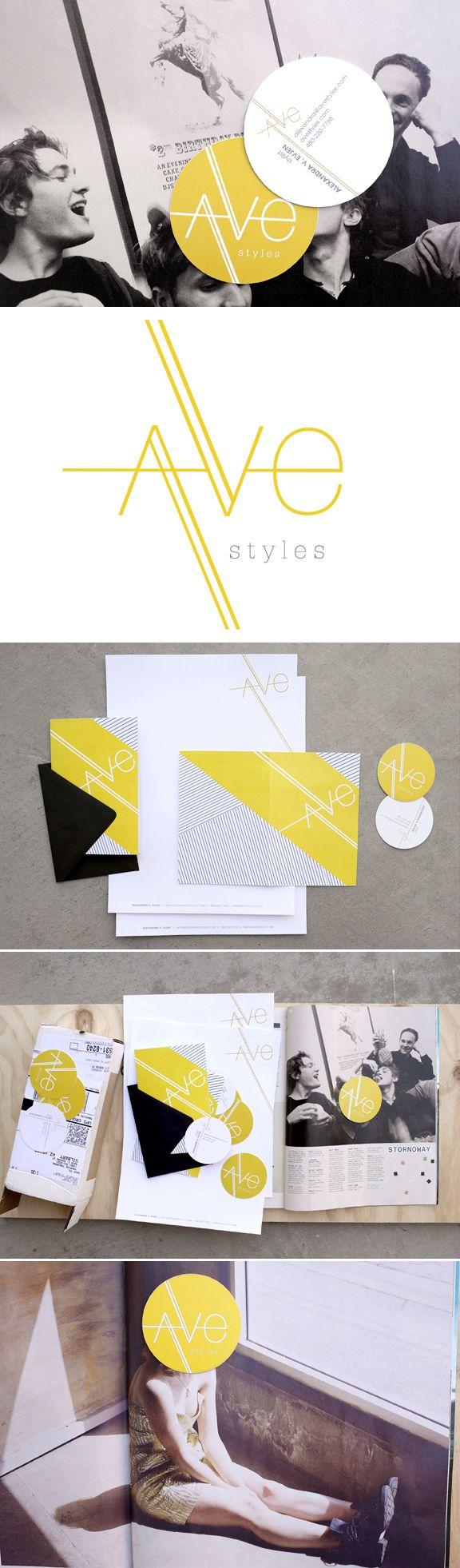 Ave Styles branding by Promise Tangeman