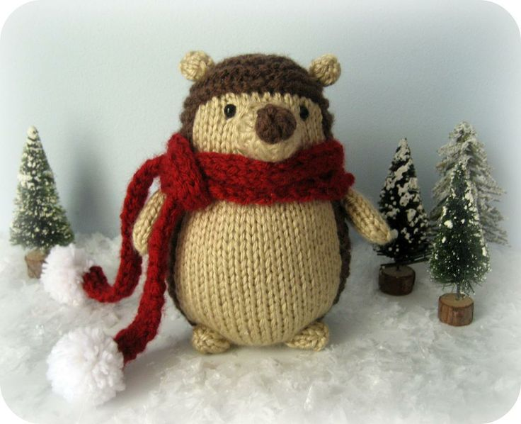 Knit Hedgehog Amigurumi Pattern free Gorgeous knits Pinterest