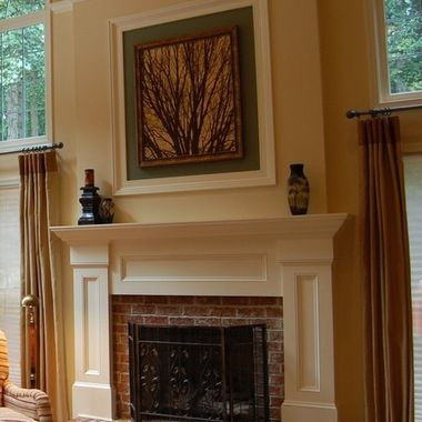 Update Brick Fireplace Design Ideas For The Home Pinterest