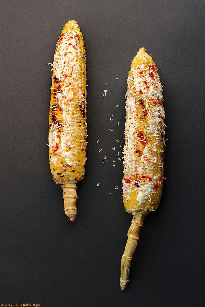 Grilled Corn On The Cob (Elote Asado) Recipe — Dishmaps