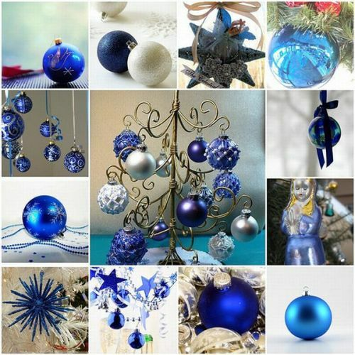 Christmas-decorations Blue