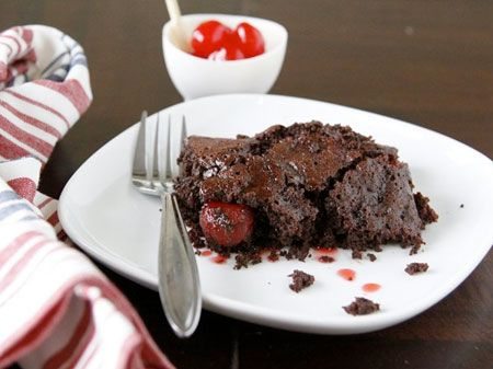 Chocolate Cherry Cola Dump Cake Need to bake a delicious cake and don ...