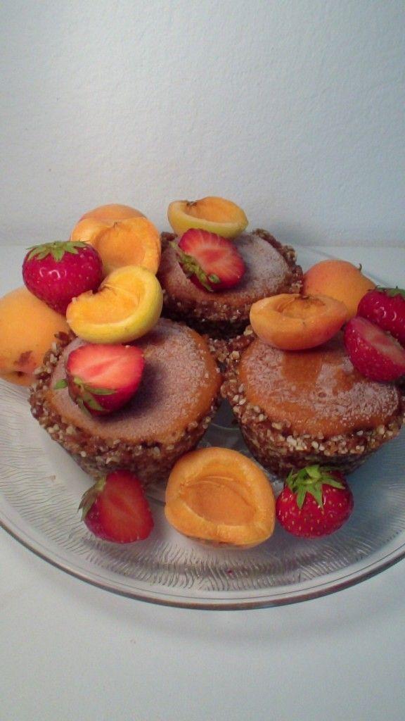 raw vegan apricot cupcakes | Cruelty free Vegan cooking baking & food ...