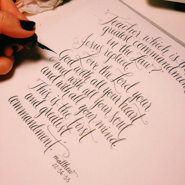 Modern calligraphy calligraphy pinterest Pinterest calligraphy