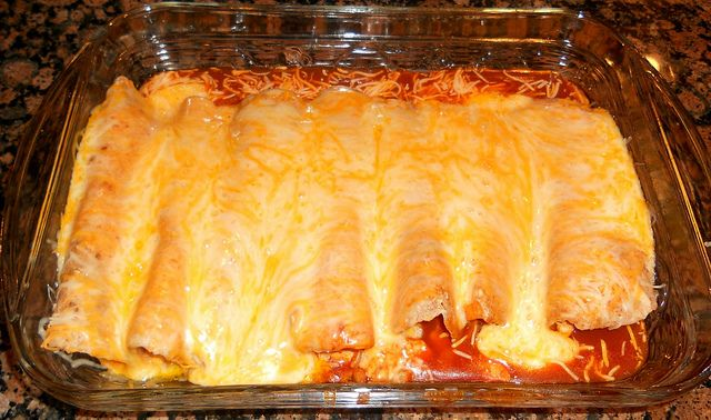 Easy cheesy chicken enchiladas | Chicken | Pinterest
