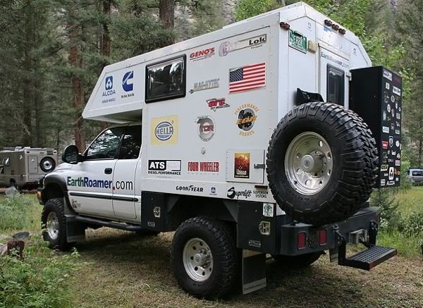 Chevy Silverado Camper Shell Truck Camper | Overlanding & expedition vehicles | Pinterest