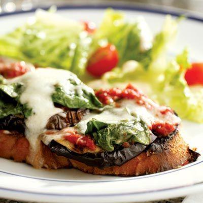 Grilled Eggplant Parmesan Sandwich - hello, eggplant!