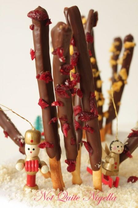 Homemade Pocky Sticks | Royal Icing Designs | Pinterest