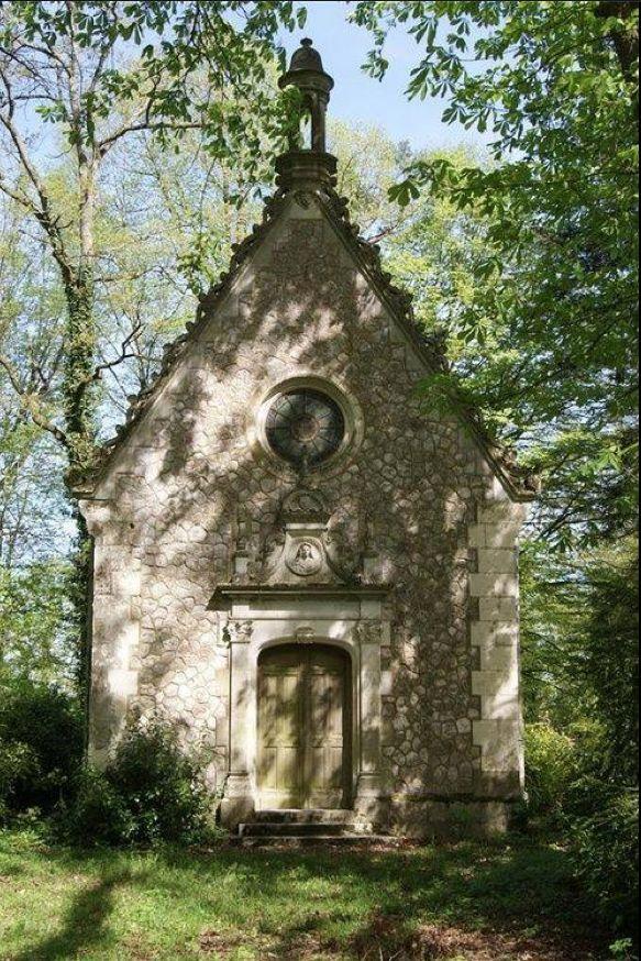 Chapel at Chateau, Indre et Loire, France