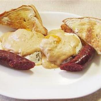 Cajun-Style Eggs Benedict