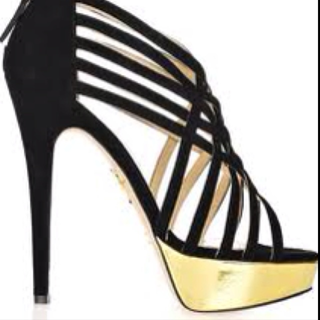 Black and gold shoes | My passions | Pinterest