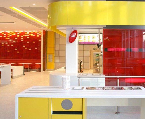Mcdonalds Interior Design Ideas Restaurant Design