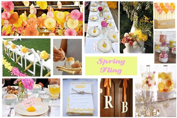 Spring fling party idea entertaining ideas pinterest