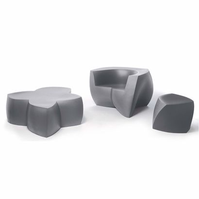 Frank Gehry Easy Chair Set