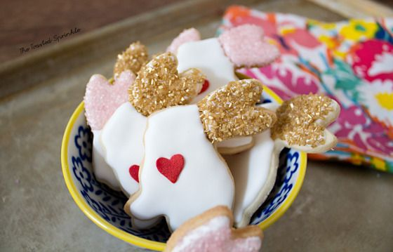 Easy cut-out lemon sugar cookies - no chilling time required!