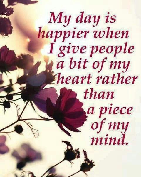 i rather give a piece of my mind quotes pinterest
