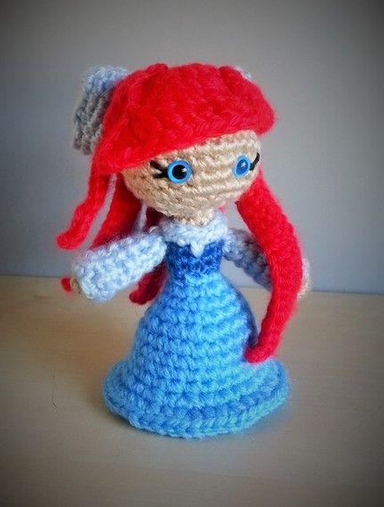 Amigurumi Crochet Mermaid : Pin by Erin Lott on Amigurumi Pinterest