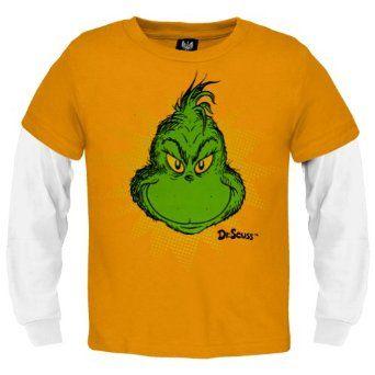 ... Boys Grinch Juvy 2Fer T-Shirt - Jucy 6 Orange: Amazon.co.uk: Clothing