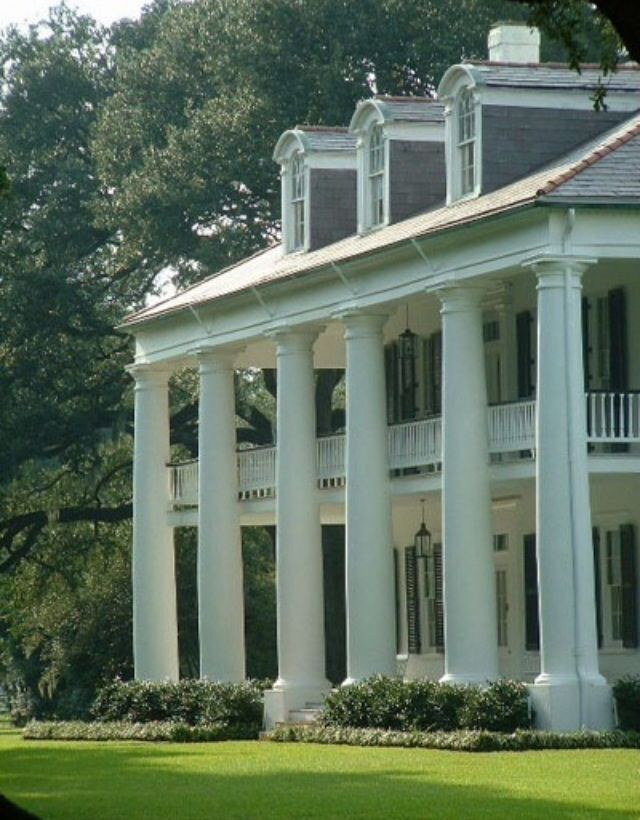 Southern Plantation Style Old Homes Pinterest